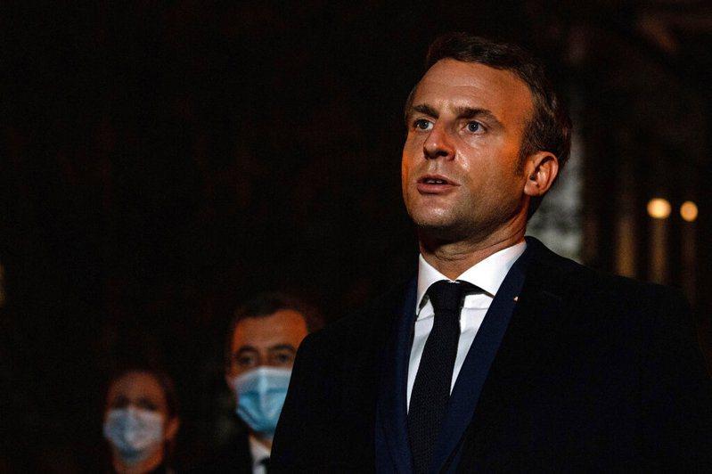 川普口誤將法國總統馬克宏「降職」。 圖/美聯社