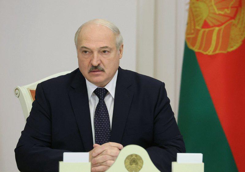白俄羅斯總統魯卡申柯(Alexander Lukashenko)。 歐新社
