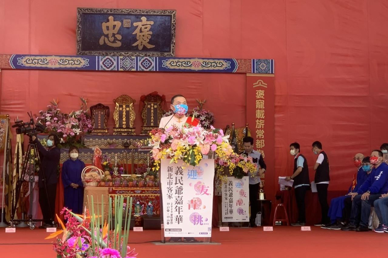 鄭文燦說對2024大選非「不動如山」 侯友宜:祝福他