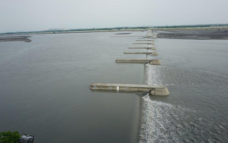 高屏攔河堰。圖/高雄市水利局提供
