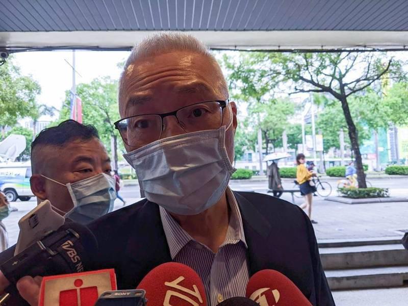 國民黨前主席吳敦義。記者劉宛琳/攝影