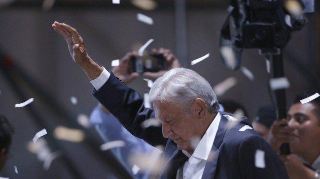 墨西哥總統羅培茲。 美聯社