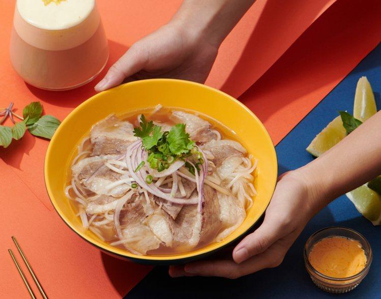 選用台灣溫體牛的「黃金胸肉」,每份190元。圖/小洛城cyclo提供