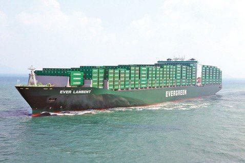 台灣今年進榜的五家企業,排名最前的是長榮海運。 圖/榮海運提供(聯合報系資料照片...
