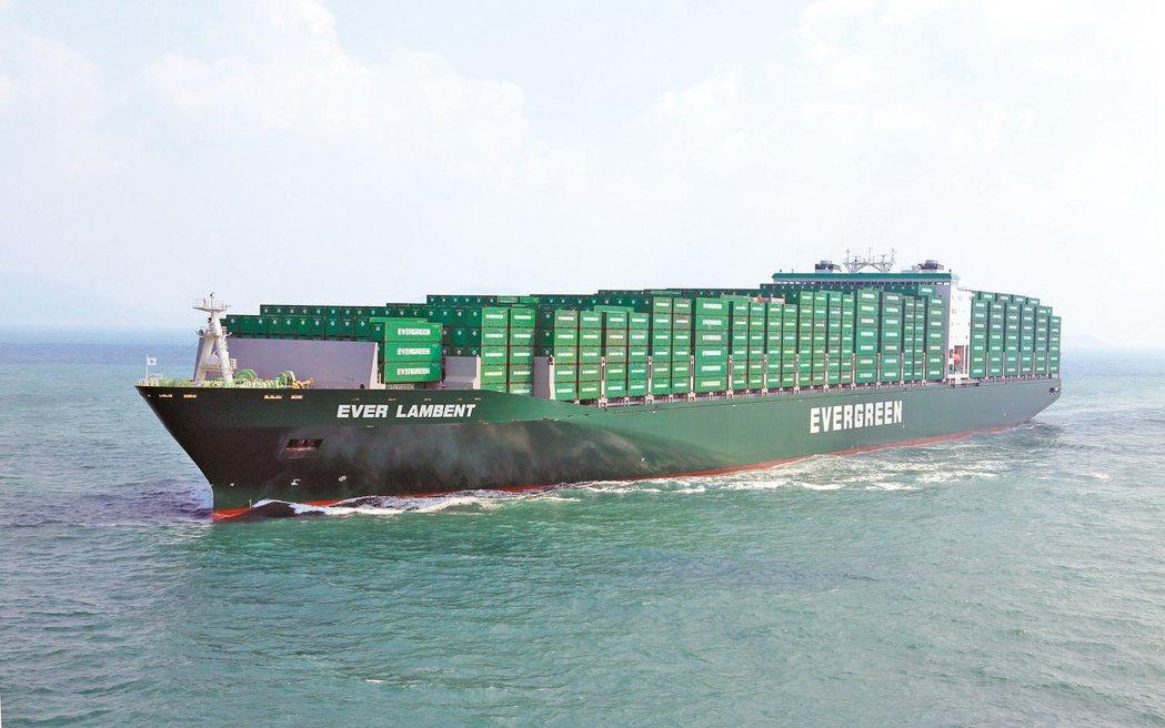 台灣今年進榜的五家企業,排名最前的是長榮海運。 圖/長榮海運提供(聯合報系資料照...