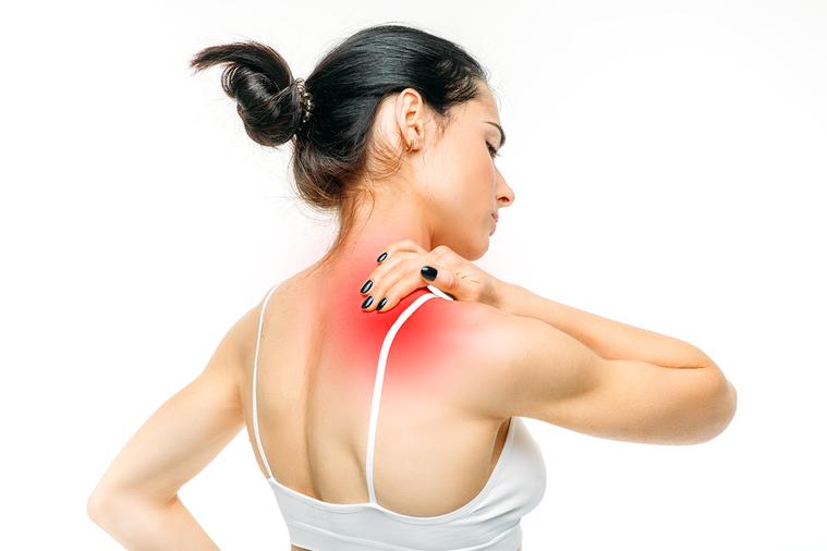 有時肌肉摸起來就好像被過度包覆一般,觸感很完整,但是非常緊繃。 圖/ingima...