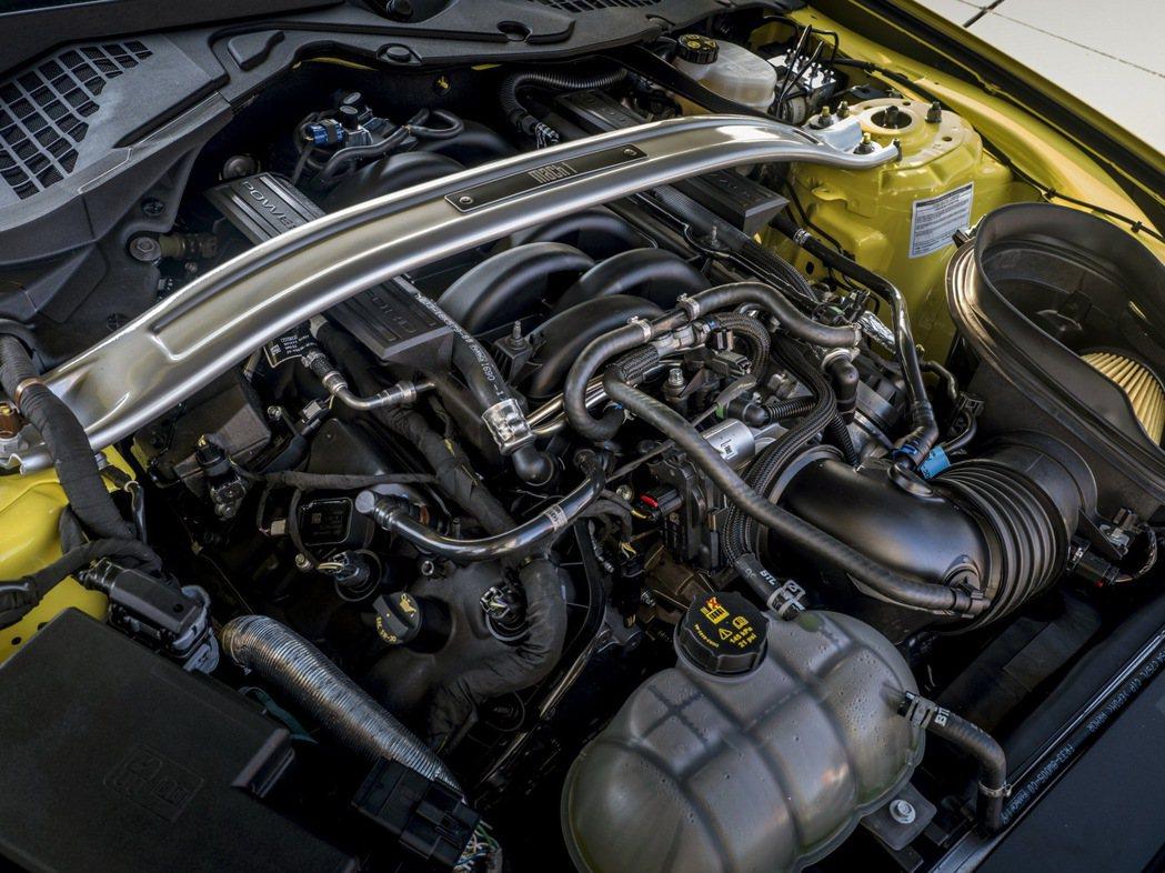 歐規Mach 1動力輸出由美規的480hp調降至453hp。 摘自Ford
