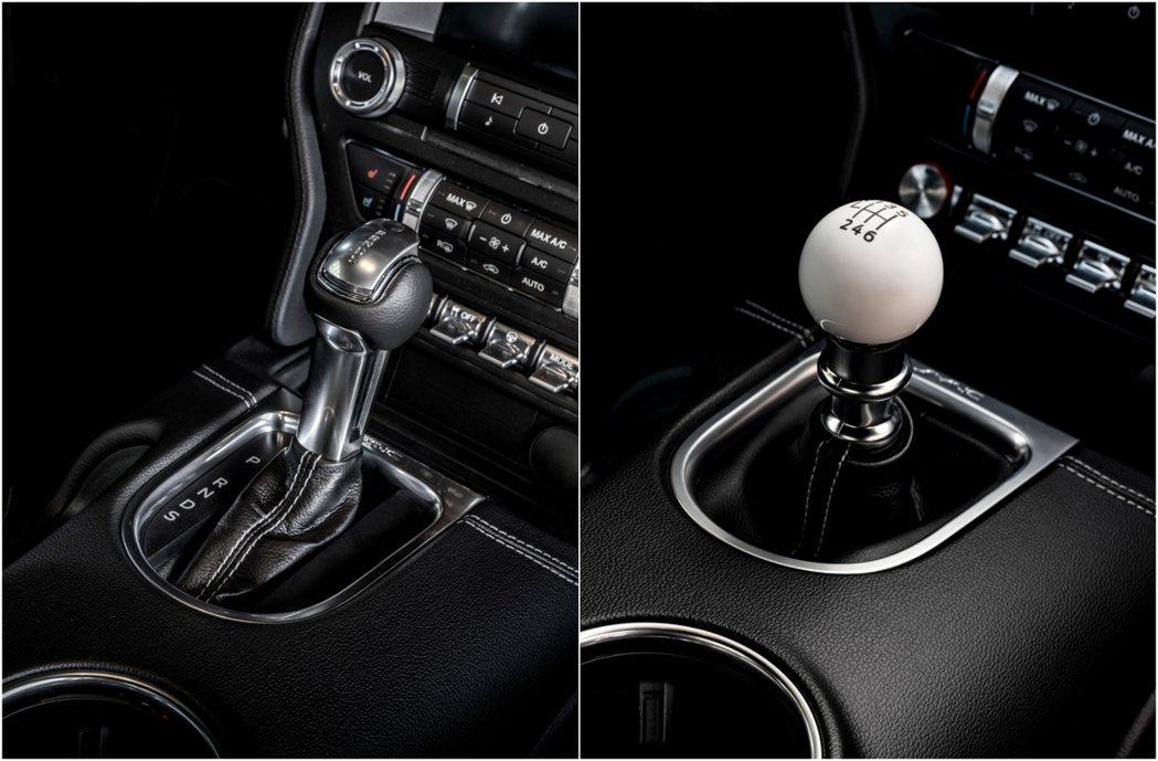 標配10速自排變速箱,可改選配Tremec六速手排變速箱。 摘自Ford