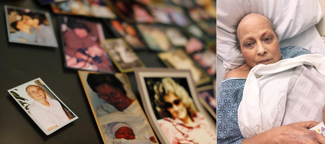 圖左:Darlene Coker、圖右:加州婦女伊娃.艾契維利亞指控長年使用嬌生...