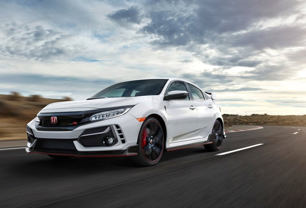 Honda Civic Type R。 摘自Honda