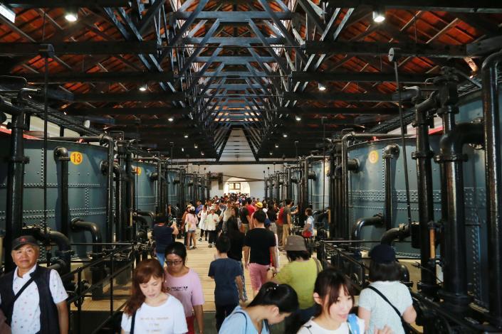 台南市山上花園水道博物館。圖/台南市政府提供