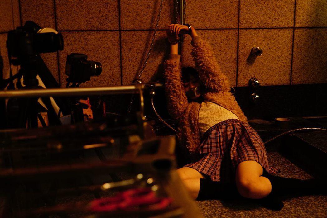 「看不見的目擊者」劇照。圖/華映娛樂提供