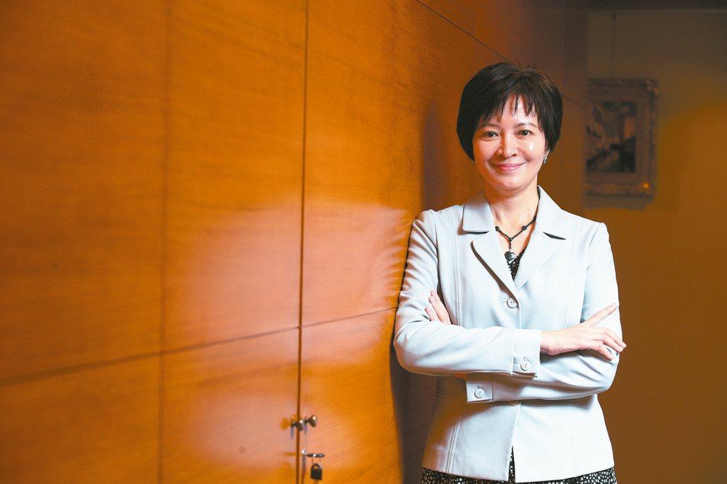 兆豐證券董事長陳佩君。 記者葉信菉/攝影