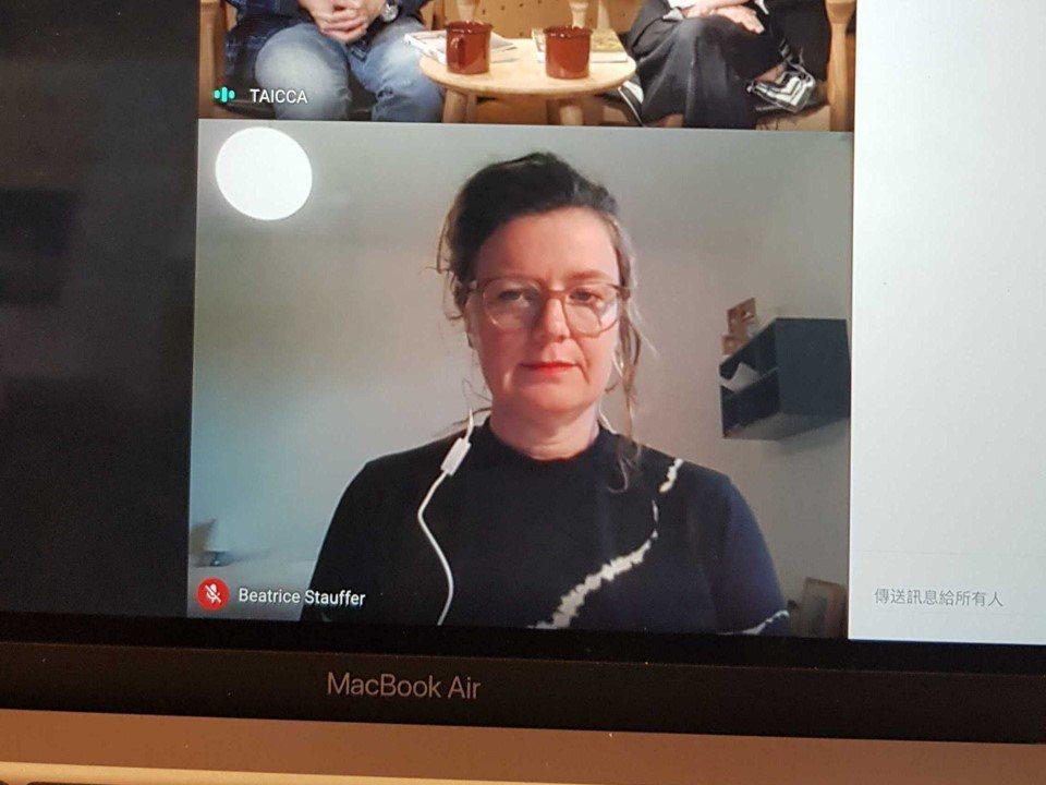 ARTS+論壇講者:Beatrice Stauffer。 文策院/提供