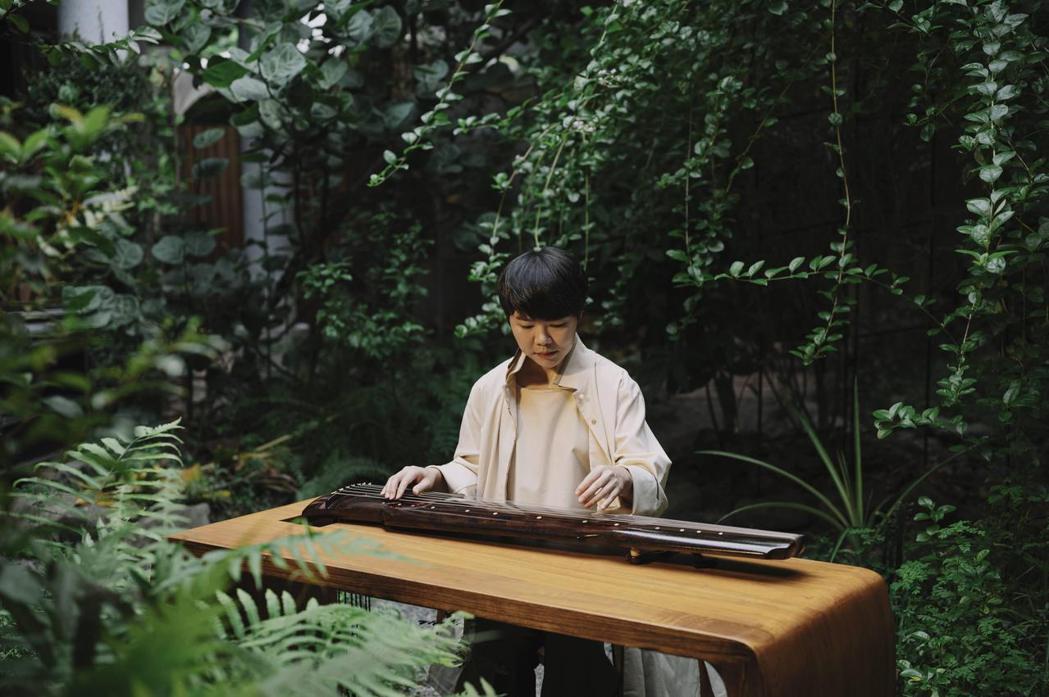 臺灣之夜古琴表演者:黃勤心。 文策院/提供