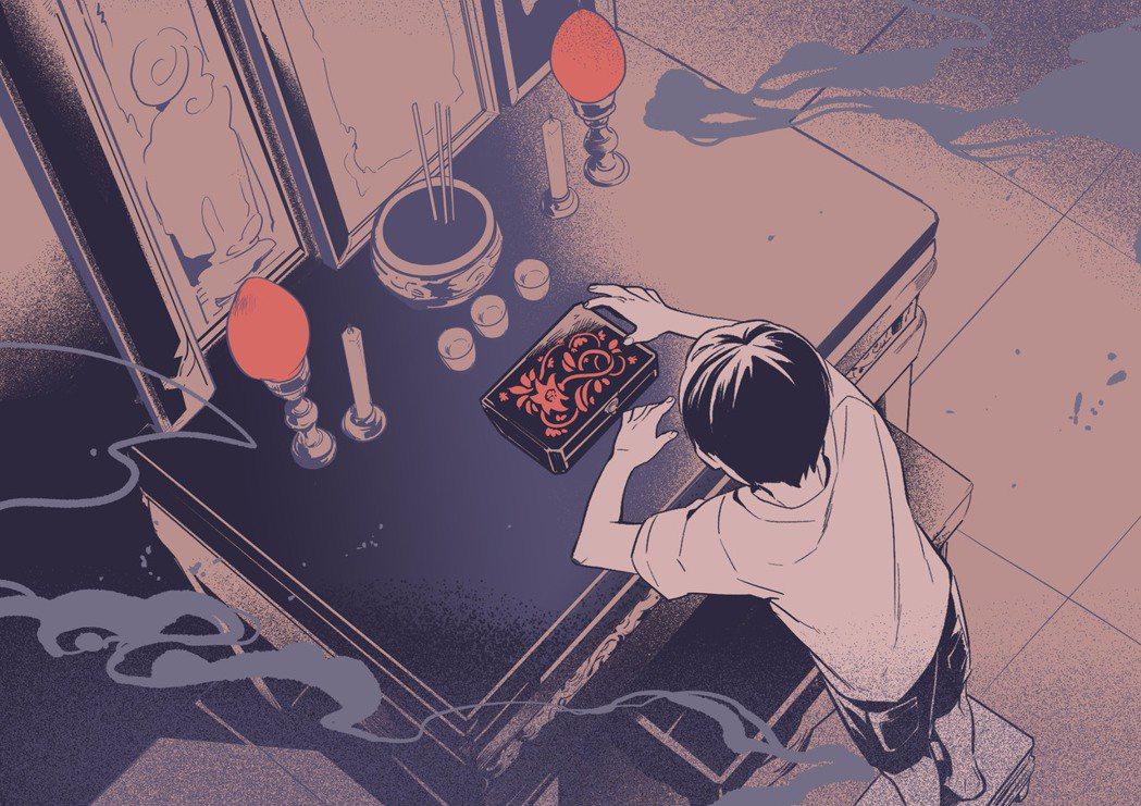 聲音劇場:《筷:怪談競演奇物語》金士傑說書。 文策院/提供