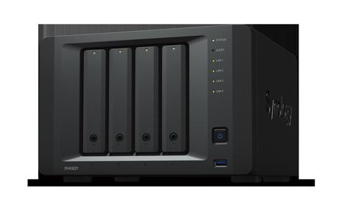 Synology 新一代深度學習影像監控系統 DVA3221,透過內建的深度學習...