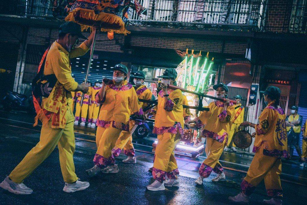 一年一度太子忠孝文化季「夜巡暗訪安魂路祭」主要目的是要淨化路口,祈求地方意外減少...
