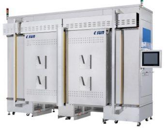 志聖自動化烤箱可依產品烘烤流程,配合AGV車取放物料、自動開關門並執行烘烤程式。...