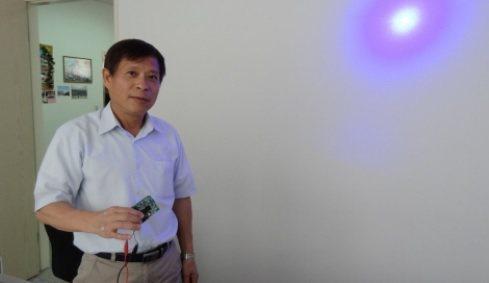 科盈科技總經理黃顯榮。 翁永全/ 攝影