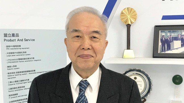 盟立董事長暨總裁孫弘。 記者李珣瑛/攝影
