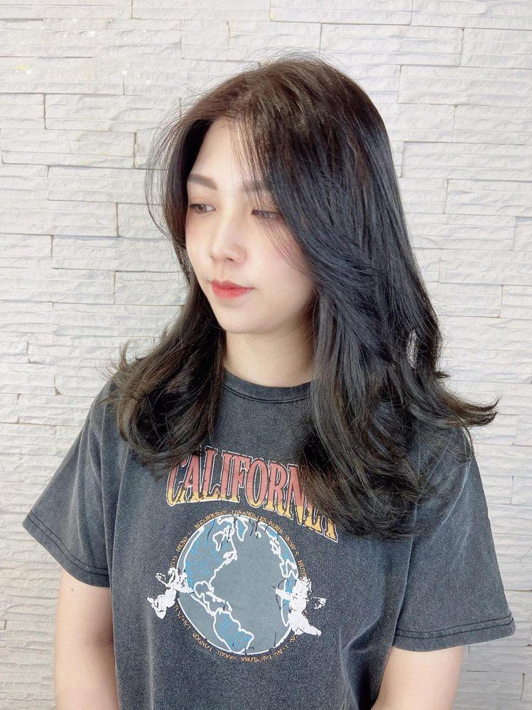 髮型創作/Lin hair / 蜜雪兒Michelle,圖/StyleMap美配...