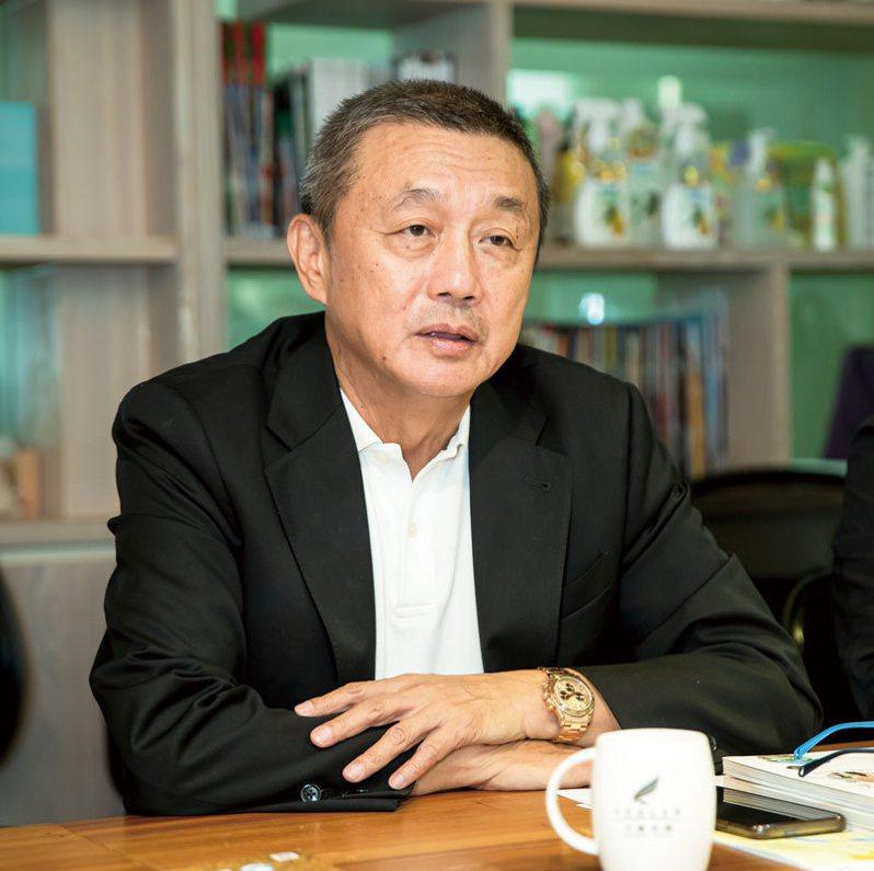 力麗集團董事長郭銓慶用畢生精力,來愛台灣這塊土地。