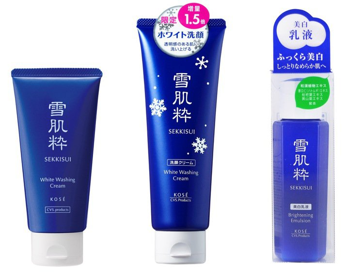 雪肌粋淨白洗面乳、雪肌粋美白乳液皆為日本7-ELEVEN獨家販售,現在不用出國也...