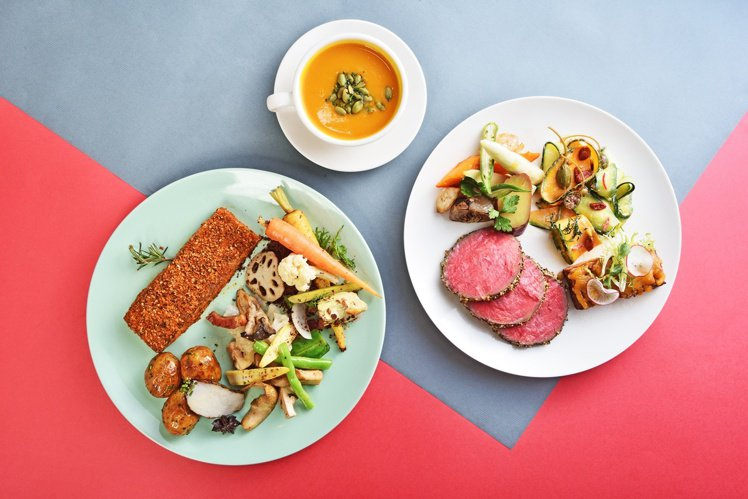 gonnaEXPRESS 提供有「自選好肉好菜」組合菜單。圖/雄獅提供