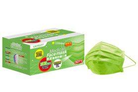 萊爾富10月21日開賣「極光綠」炫彩醫療口罩 限量3萬盒