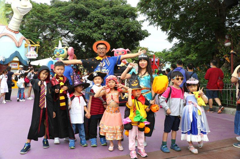 萬聖節將到,麗寶樂園推出活動。圖/麗寶樂園提供