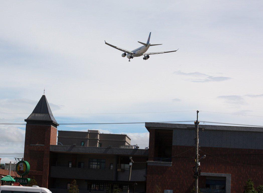 桃園機場航班起降數銳減,市政府統計今年前8月,機場噪音防制費、回饋金共銳減3億元...