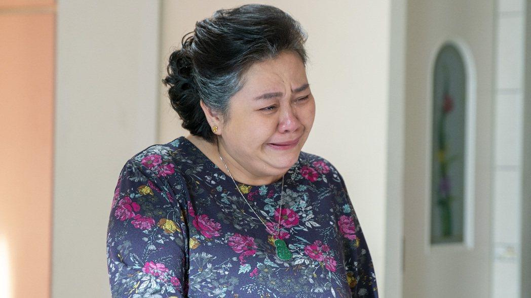 鍾欣凌在「我的婆婆怎麼那麼可愛」中淚崩逼哭百萬人。圖/公視提供