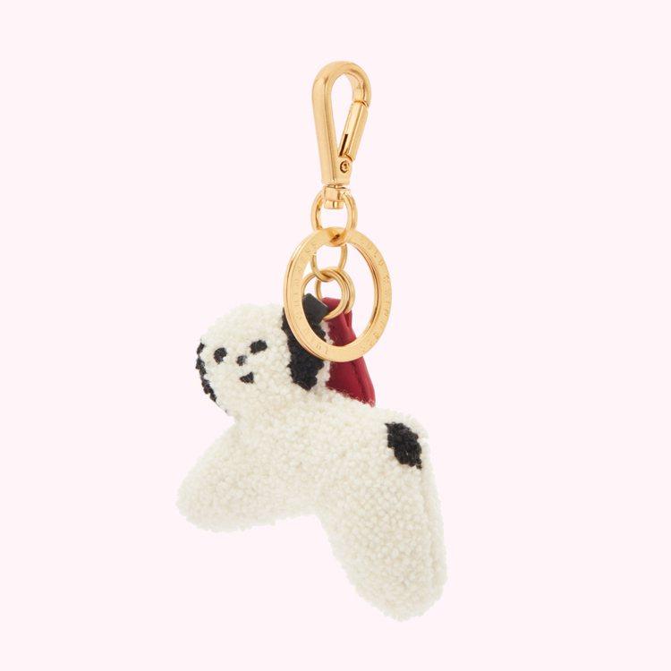 Charlotte Mei聯名系列小狗鑰匙圈,2,980元。圖/LULU GUI...