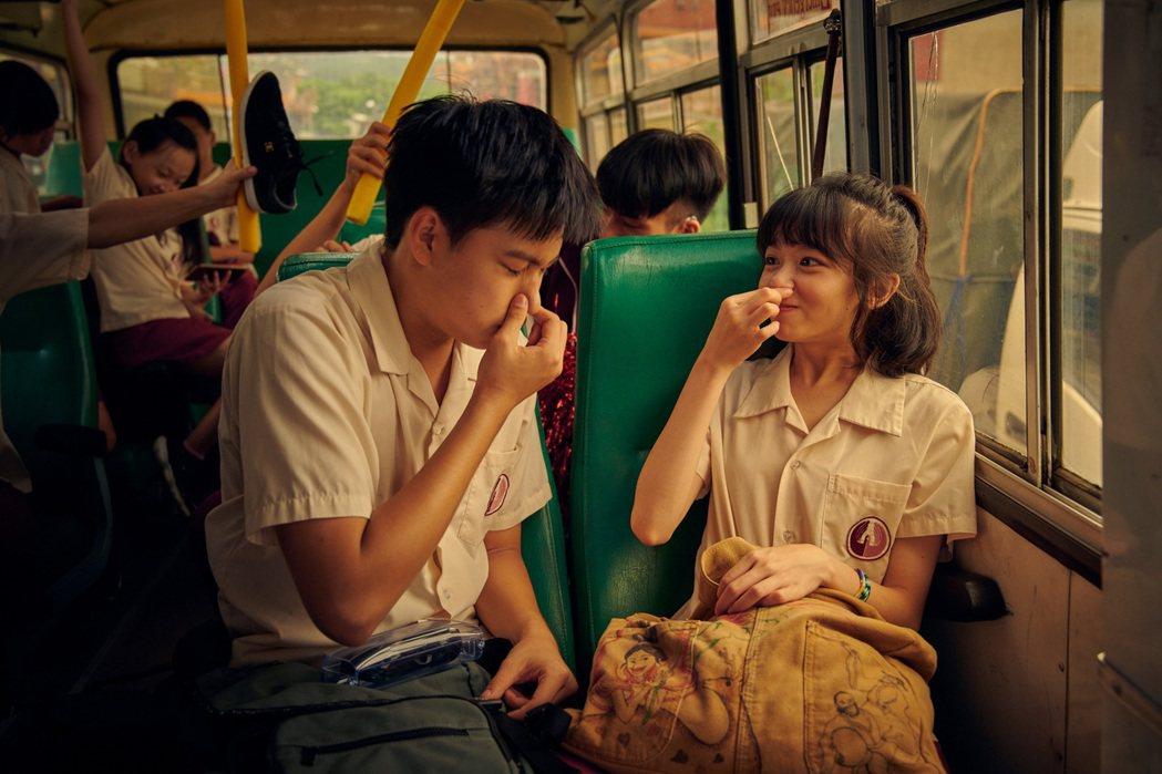 陳姸霏(右)、劉子銓主演「無聲」提名金馬獎8項獎。圖/CATCHPLAY提供