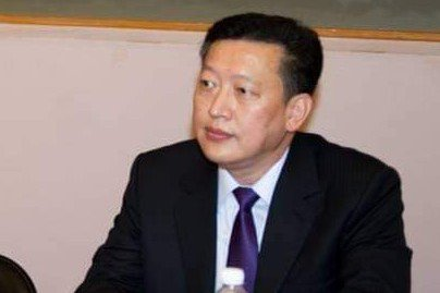楊杰當選全國養豬協會理事長,他呼籲政府做好進口萊豬的產地標示及流向追蹤,保障豬農權益。圖/翻攝林姿妙臉書粉專