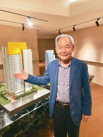 大陸建設董事長張良吉宣布,總銷120億元的大陸「麗格」銷售破六成,並鎖定豪宅菁英...