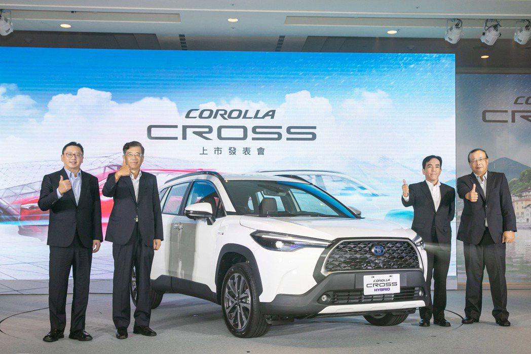 和泰車看好Corolla Cross將挑戰台灣新車銷售紀錄。圖為和泰車總經理蘇純...
