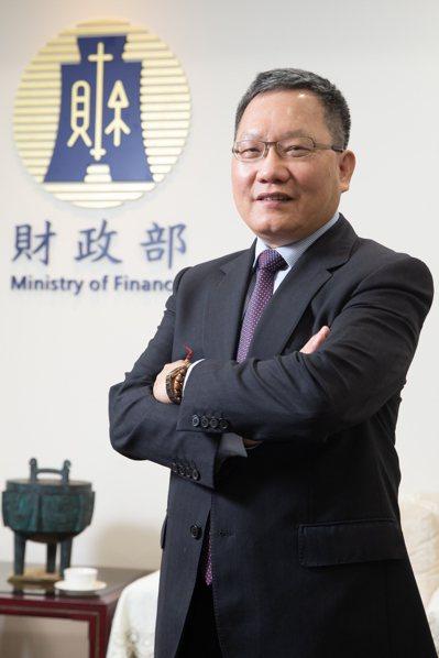 財政部長蘇建榮。記者季相儒/攝影