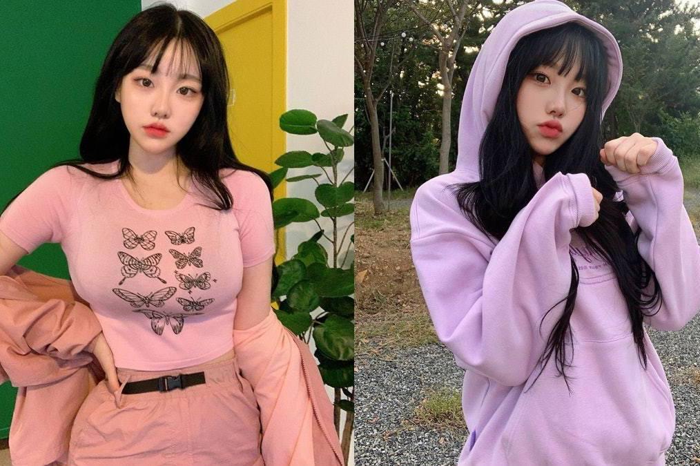 活潑風格被封可愛萌妹 韓國網紅身材「很有壓迫感」引關注