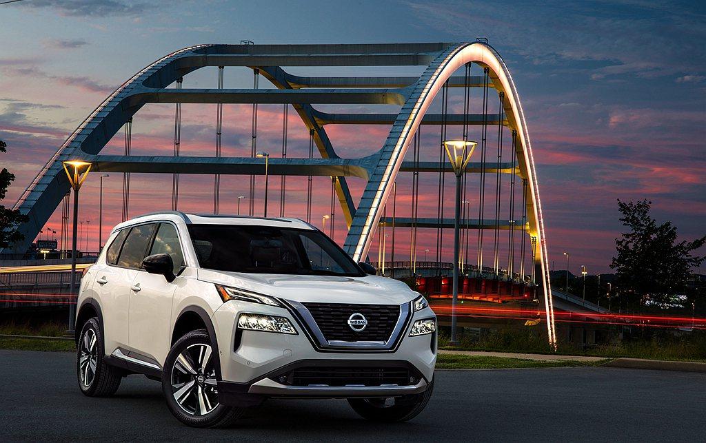 全新世代Nissan Rogue不僅可確認其他市場X-Trail的外觀樣貌,北美...