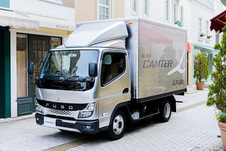超越5噸車型的載重能力!全新第九代三菱Fuso Canter日本正式發表