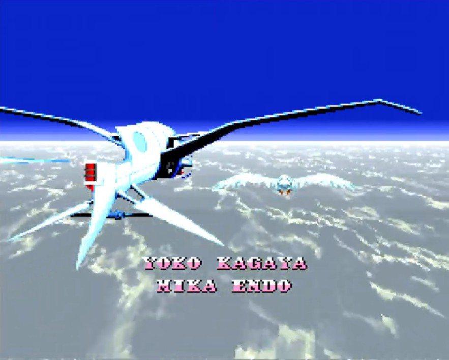結尾的工作人員字幕名單,充分地展現了超任主機的放大縮小旋轉機能。搭配的音樂也很值...
