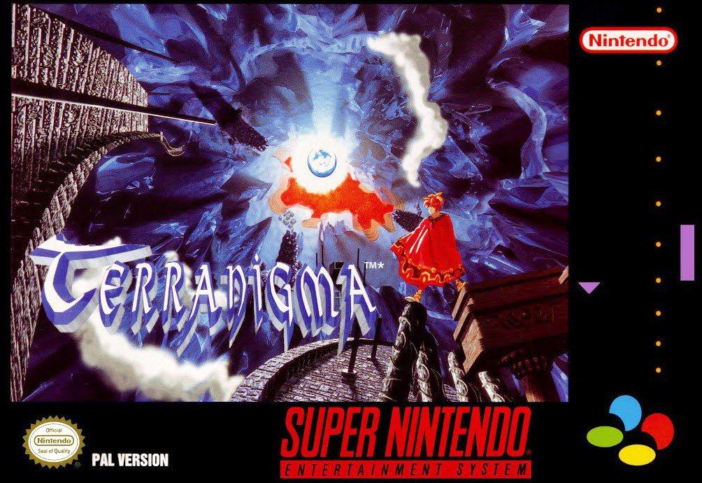 當時天地創造在歐洲市場所發行的遊戲封面。