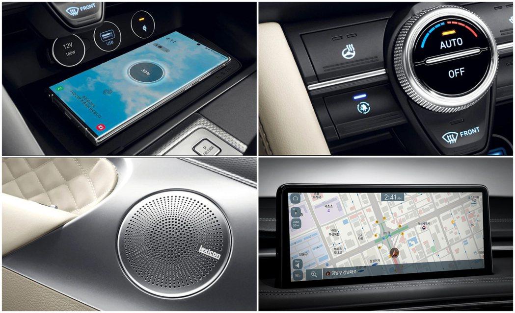 小改款Genesis G70首度採用10.25吋中控觸控式螢幕。 摘自Genes...