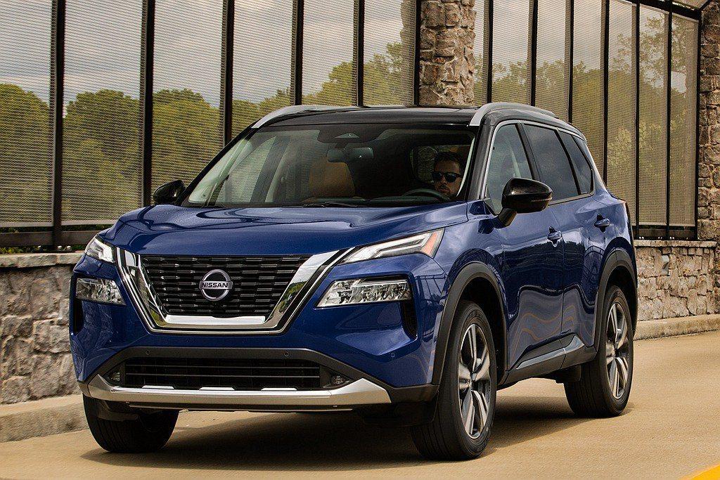 大改款2021 Nissan Rogue。 圖/Nissan提供
