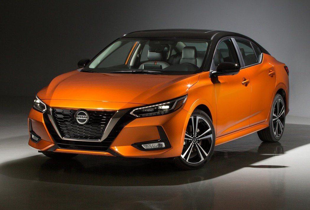 Nissan Sentra。 圖/Nissan提供