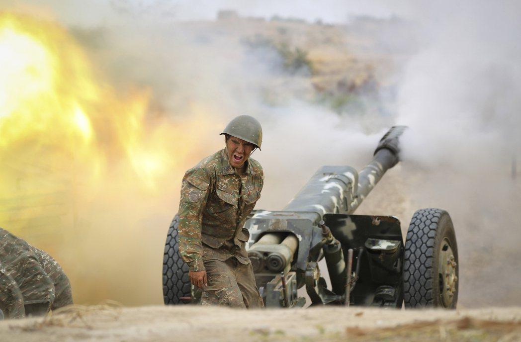 高加索地區的亞美尼亞與亞塞拜然,近日因長期的領土紛爭,再度爆發武裝衝突。 圖/亞美尼亞國防部