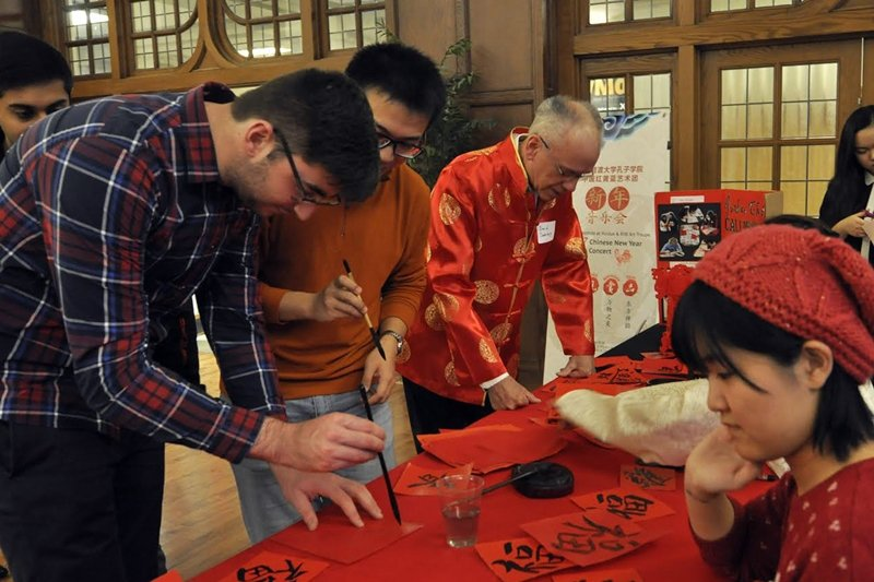 孔子學院宣稱設立目的是教導中文與文化交流,但實際上是北京政權的影響力工具。圖為美國普渡大學孔子學院。 圖/新華社