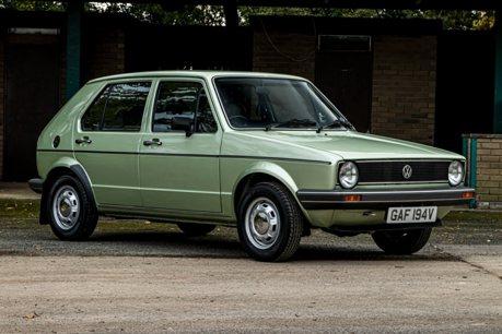 這輛1980年的Volkswagen Golf MK1 竟還有點新車味!
